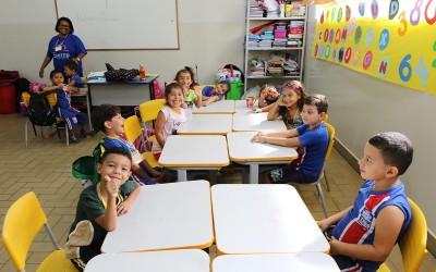 """""""Como se estivéssemos na nossa escola"""", diz diretor do CEI Cida Castro sobre retorno às aulas no prédio do CRASE"""