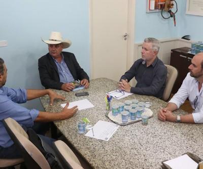 Em reunião com Guerreiro, Empresário planeja iniciar construção de fábrica