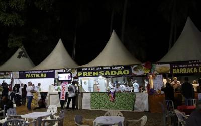 Instituições preenchem vagas disponíveis na praça de alimentação do Desfile de Carnaval