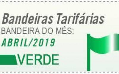 Aneel mantém em verde  bandeira tarifária de abril