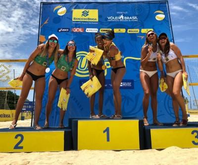 Aninha da SEJUVEL vence primeira etapa do Circuito Brasileiro de Vôlei de Praia