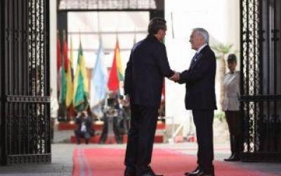 Bolsonaro e presidente do Chile firmam compromisso para construção da Rota Bioceânica