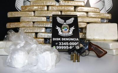 Mulher presa com R$ 500 mil em cocaína pode ter ligação com crime organizado