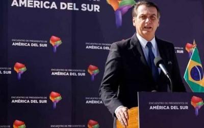 Bolsonaro se reúne com seis presidentes sul-americanos