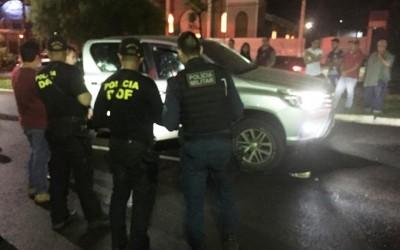 Ataque de pistoleiro a camionete blindado deixa um morto e um ferido na cidade de Ponta Porã