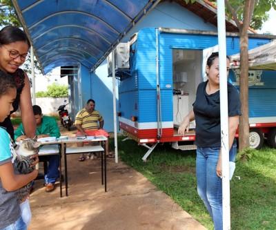 Castramóvel ficará mais uma semana na Vila Piloto e depois atenderá na região dos ranchos do Sucuriú