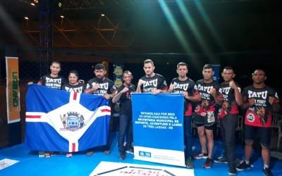 Com apoio da SEJUVEL, lutadores de Três Lagoas vencem competição de MMA na Capital