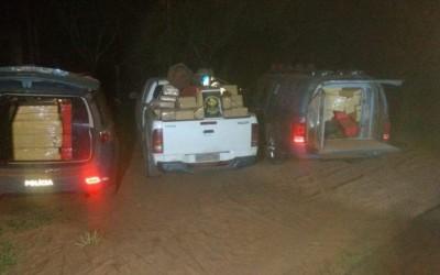 Duas toneladas de maconha são apreendidas em assentamento rural