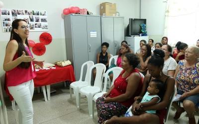 Equipe da ESF Jupiá dedica atenção especial à saúde da mulher
