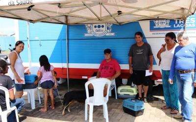 Equipe do Castramóvel de Três Lagoas estará no Jupiá a partir de segunda-feira