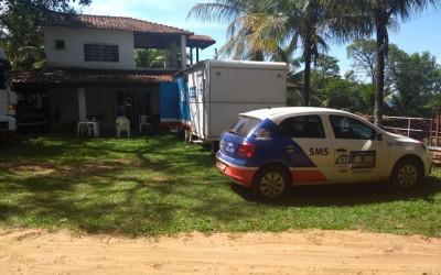 Equipe do Castramóvel de Três Lagoas permanece mais um dia na Pousada do Sucuriú