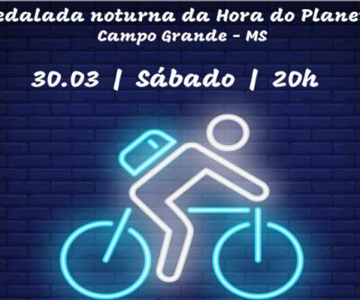 Hora do Planeta com pedalada e monumentos apagados na Capital