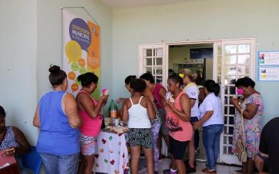 Mulheres são acolhidas com atenção especial na ESF Paranapungá
