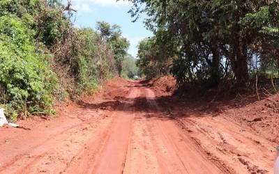 Período de chuvas impede serviço do DSP na Rua Trajano dos Santos