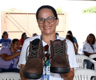 Calçados especiais são entregues para Agentes Comunitários de Saúde de Três Lagoas