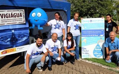 Saúde e Meio Ambiente de Três Lagoas comemoram Dia Mundial da Água