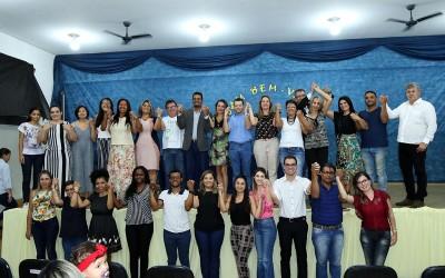 Servidores aprovados em Concurso Público tomam posse para preenchimento de vagas na Assistência Social e Saúde