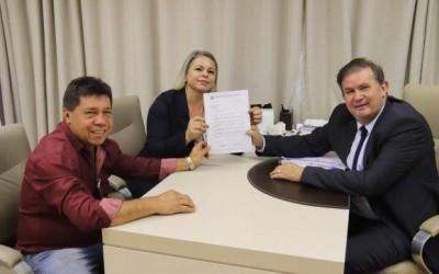 Vereadores de Brasilândia visitam Eduardo Rocha e solicitam melhorias ao município