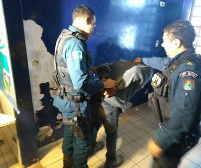 Ladrão é detido em MS por dono de empresa e vizinhos após invadir o local para furtar objetos