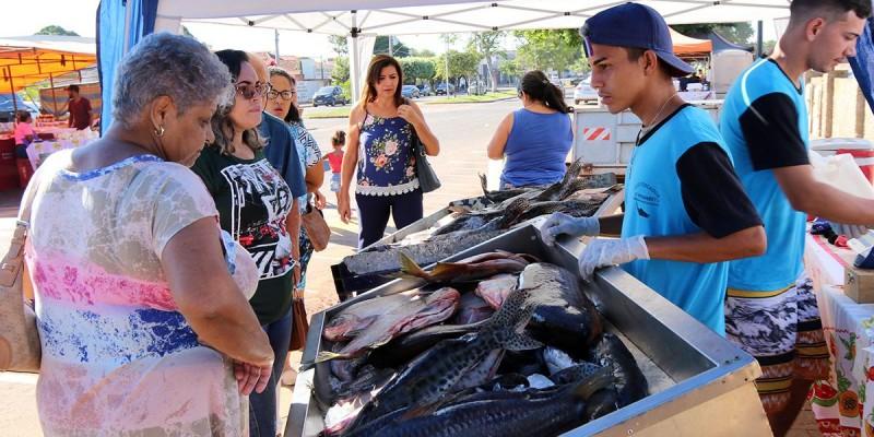 6ª Feira do Peixe de Três Lagoas comercializou mais de 15 toneladas de pescado
