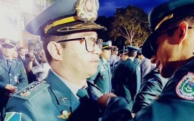 Comandante do 2º Batalhão da PM de Três Lagoas recebe medalha Tiradentes