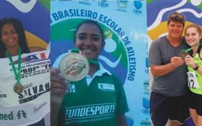 Atletas de Três Lagoas conquistam medalhas de ouro e bronze em Competição Nacional