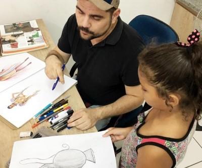 Diretoria de Cultura de Três Lagoas abre inscrições para curso de Desenho Artístico