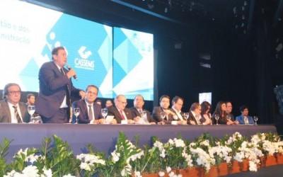 Em posse de presidente reeleito da Cassems e diretoria, Eduardo Rocha destaca excelente trabalho