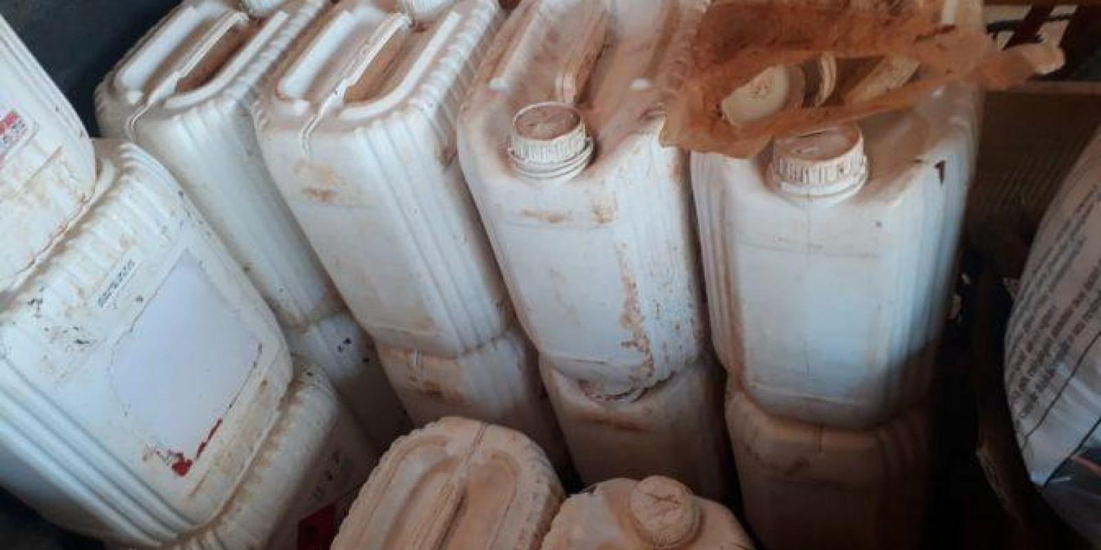 Empresa de Três Lagoas é autuada por armazenamento ilegal de agrotóxicos