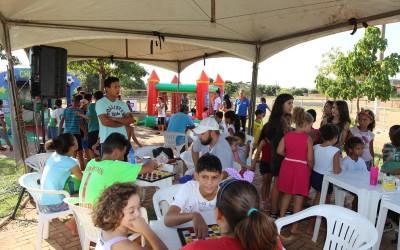 Mais Lazer nas Comunidades agita Jardim das Acácias e faz a alegria da criançada