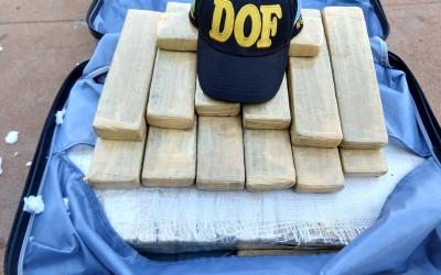 Homem é preso pelo DOF por Tráfico de Drogas