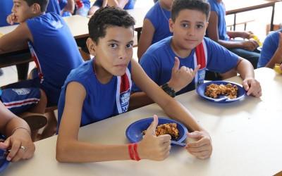Mais de 32.500 refeições/dia são distribuídas na Rede Municipal de Ensino de Três Lagoas