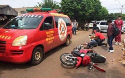 Motociclista morre em acidente com estudante de medicina