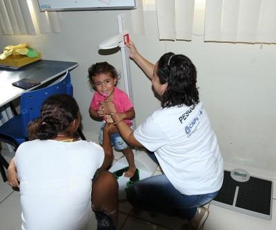 Pesquisa nacional avalia peso, altura e alimentação das crianças de Três Lagoas