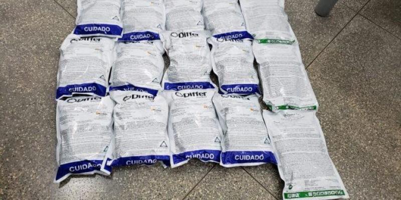 Polícia Ambiental prende contrabandista com agrotóxicos adquiridos no Paraguai