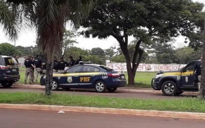 PRF faz operação em cidade considerada a mais violenta de MS