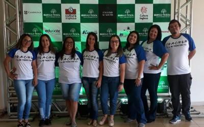 Professores da REME de Três Lagoas participam do II Congresso de Língua Inglesa Braz-Tesol MS em Campo Grande