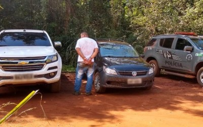 Camionete furtada que seria entregue no Paraguai foi recuperada pelo DOF