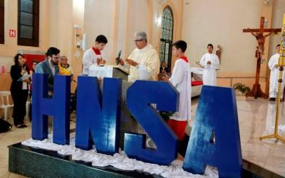Carreata e Missa Solene em comemoração ao centenário do Hospital N. Sra Auxiliadora reúne centenas de famílias