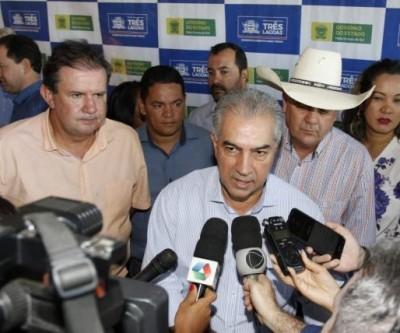 Deputado Eduardo Rocha prestigia e testemunha entregas do governo do Estado em Três Lagoas