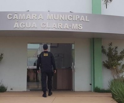 Desvios de até R$ 900 mil em Câmara Municipal de Água Clara motivaram operação do GAECO
