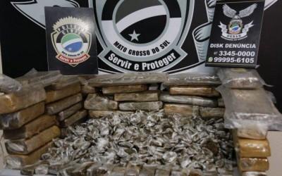'Dono' de centro de distribuição de droga é preso com 30 kg de maconha