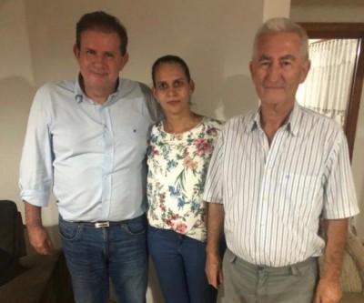 Eduardo Rocha visita prefeito de Cassilândia para agradecer parceria e reafirmar continuidade