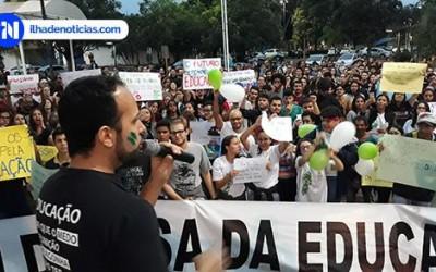 Estudantes voltam às ruas de Ilha Solteira para novo ato em defesa da educação