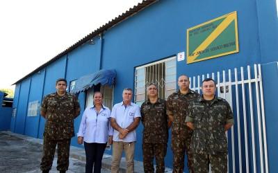 Junta Militar recebe visita técnica de delegação do 9º PRM de Campo Grande