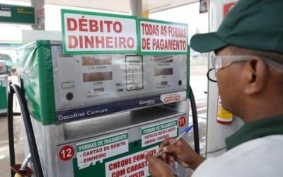 Preço do litro da gasolina se aproxima de R$ 5 em postos do interior de MS