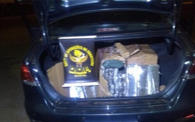 Veículo com quase cem quilos de droga é apreendido pelo DOF em Brasilândia (MS)