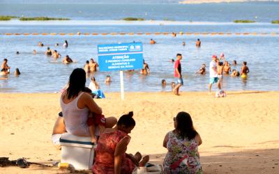 Balneário Municipal de Três Lagoas tem entrada gratuita durante o mês de junho