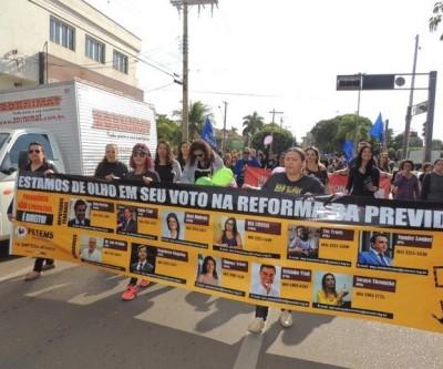 Centrais sindicais de Três Lagoas irão aderir a Greve Geral contra Reforma da Previdência nesta sexta