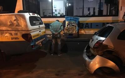 Homem é preso transportando 31kg de maconha na BR-156; o chassi do veículo estava adulterado